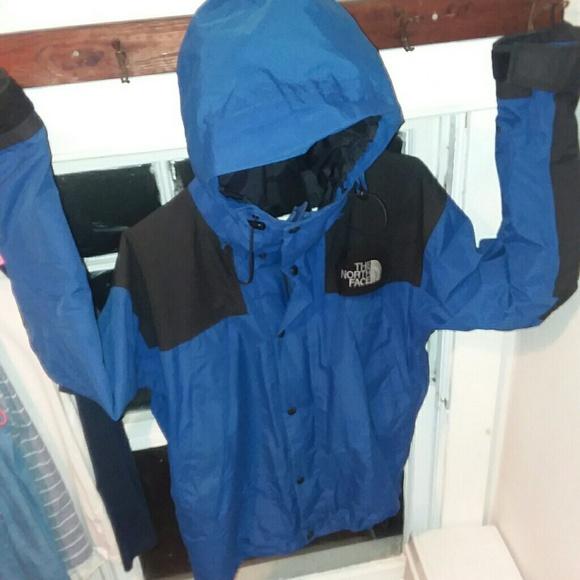 4e1dd4a91 Vintage North Face Gore-Tex Blue Parka Jacket